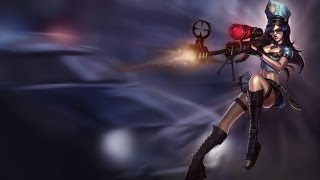 LIVE  Caitlyn ( Temporada 4 ) Como reparte la Sheriff - League Of Legends-