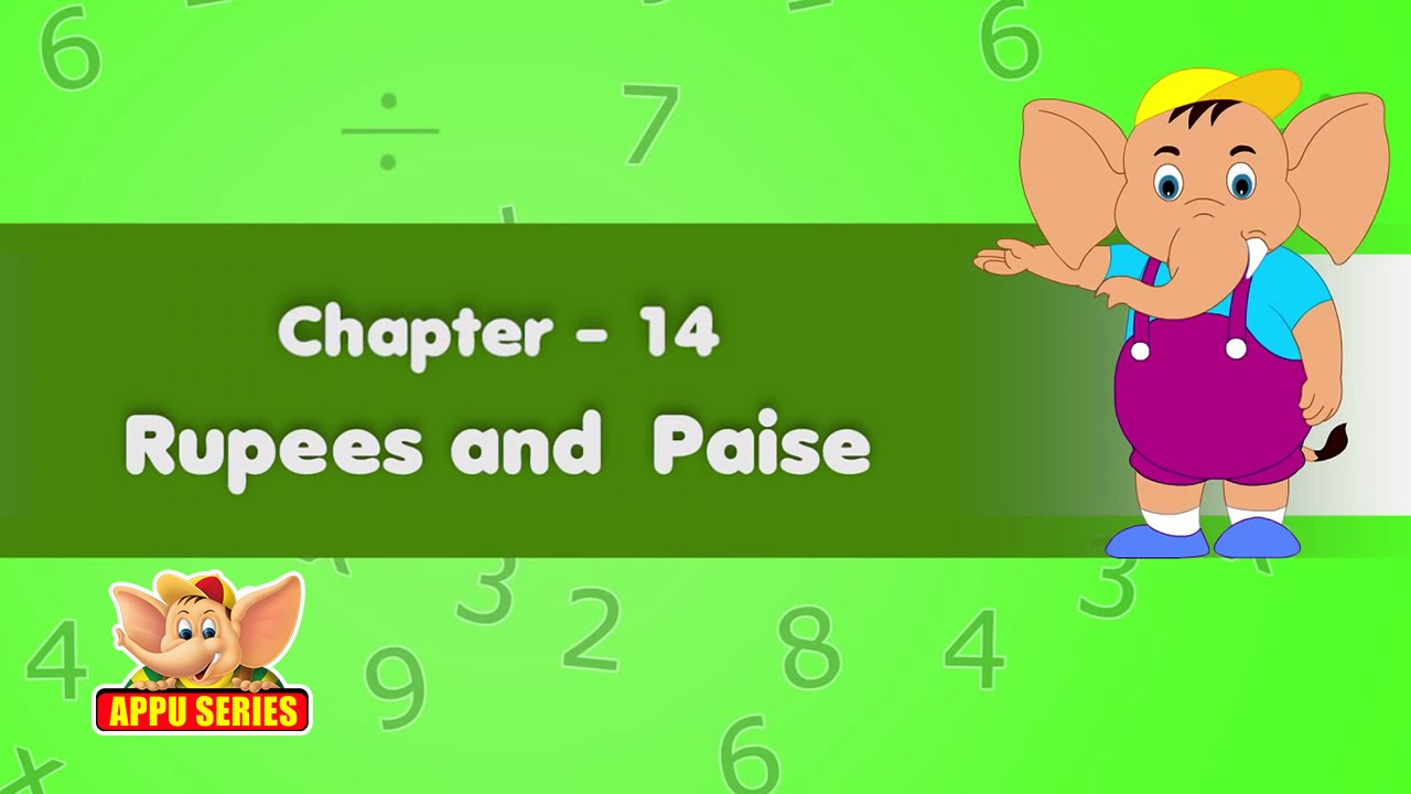 Learn Maths Rupees And Paise Youtube