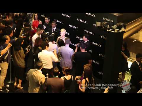 [2013] 17.10.2013 Versace Opening At Singapore Paragon