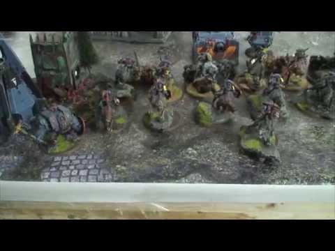 TBMC - HD Video Batrep - 1500 Space Wolves vs Nurgle Chaos Marines