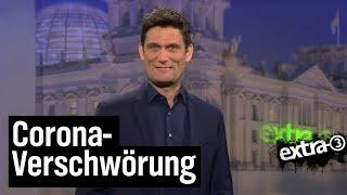Verschwörungstheoretiker und Corona | extra 3 | NDR
