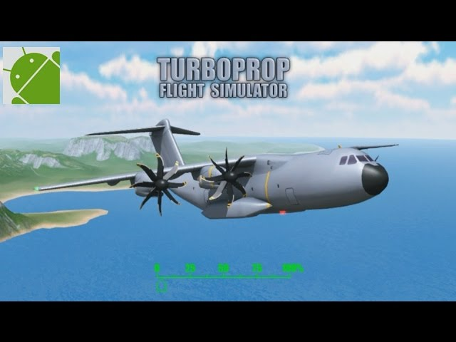 Turboprop Flight Simulator 3D - Android Gameplay HD