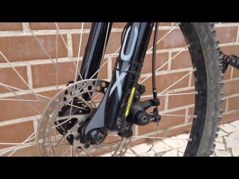 How to clean stock mtb fork