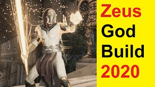 Assassins Creed Odyssey - Best Warrior Build 2020 - 24 Million Dmg - 100% Crit - Zeus Godmode Build