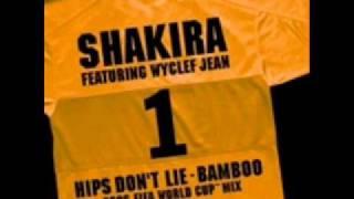 Shakira Hips Don't Lie Bamboo Spanish