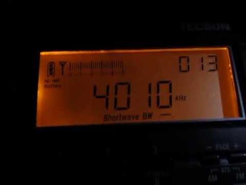 4010 Khz and // 4795 Khz, Kyrgyz Radio with nice modulation