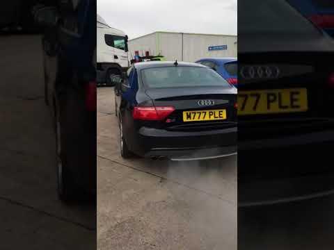 Audi S5 4.2 FSI V8 Start Up Sound - Meadowbrook Motors Sheffield