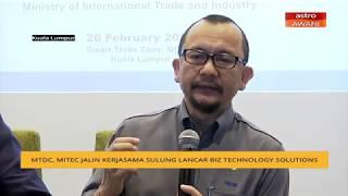 MTDC, MITEC Jalin Kerjasama Sulung Lancar  Biz Technology Solutions  - 20 2 2020