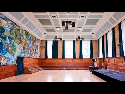Kennedy Hall refurbishment time-lapse