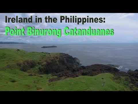 This is Binurong Point: like IRELAND in CATANDUANES - Philippines Vlog 24