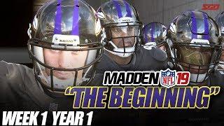 Madden 19 Franchise Year 1 - Week 1 vs Bills   Ep.1