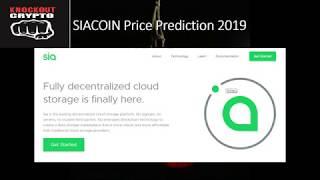 SIACOIN Price Prediction 2019