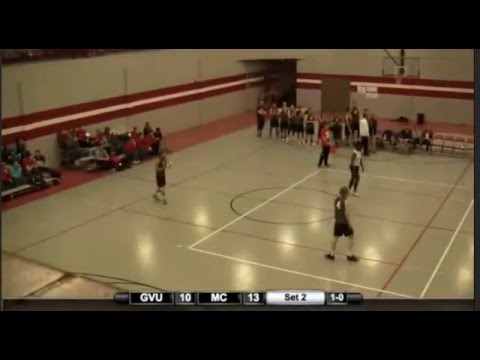 Grand View Men's Volleyball vs Morningside - 20/01/2016