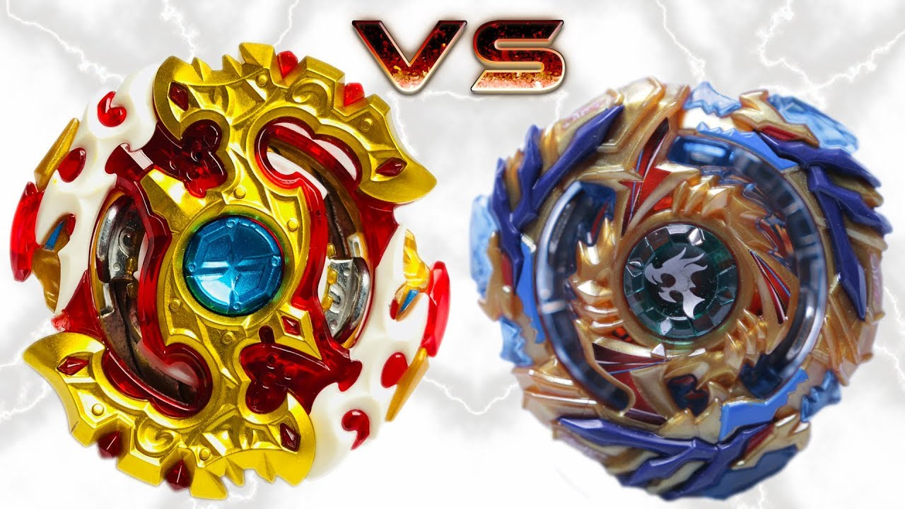 Spriggan Requiem Vs Drain Fafnir Beyblade Burst Battle