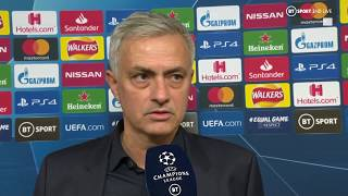 """""""I apologise to Eric Dier, I did it for the team"""" Jose Mourinho reacts to his first home game"""