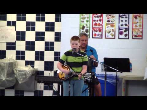 Isaac Playing Mandolin and Singing in the Windcrest Elementary School Talent Show