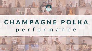 Quarantine Opera: Champagne Polka (Die Fledermaus, Strauss II, J.) - FULL PERFORMANCE