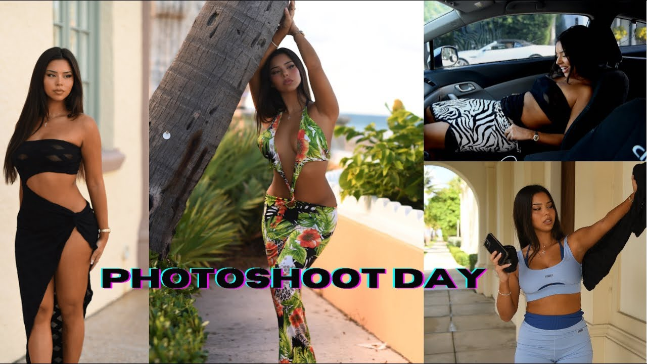PHOTOSHOOT BTS | VLOG DAY | TIANA MUSARRA