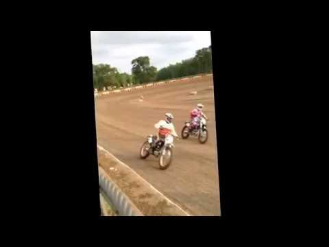 AMA all star national series Peoria Speedway 5/27/16 practice & heats compilation