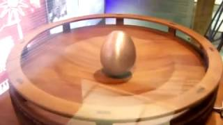 BEST Real-Life Tesla experiment 2006: egg rotating in magnetic field