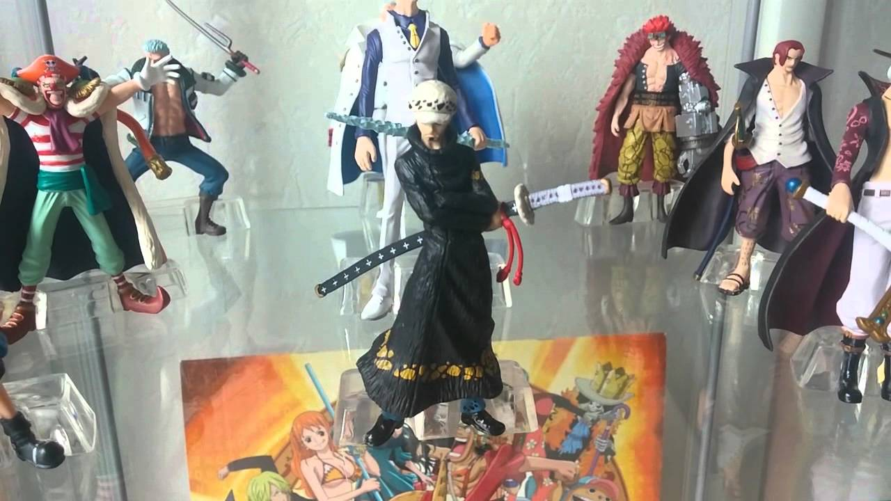 one piece figures collection hd youtube. Black Bedroom Furniture Sets. Home Design Ideas
