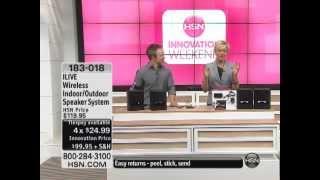 ILIVE Wireless Indoor/Outdoor Speaker System