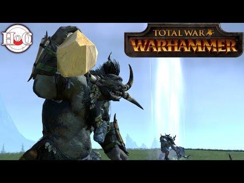 Chaos vs Beastmen - Total War Warhammer Online Battle 373