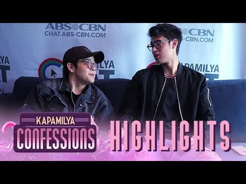 Donny and Julian take the 'Complete the Sentence Challenge' | Kapamilya Confessions Highlight