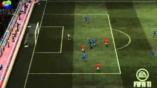 Fifa 11 - Schöner Lupfer