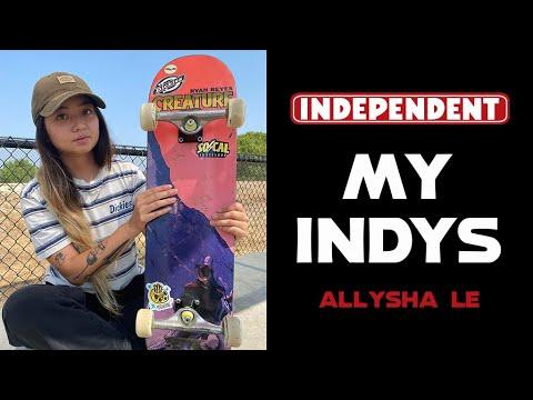 Allysha Le Skates 149 Hollows | My Indys