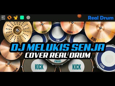 dj-izinkanku-melukis-senja-tik-tok-viral-|-cover-real-drum