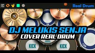 DJ IZINKANKU LUKIS SENJA TIK-TOK VIRAL | COVER REAL DRUM