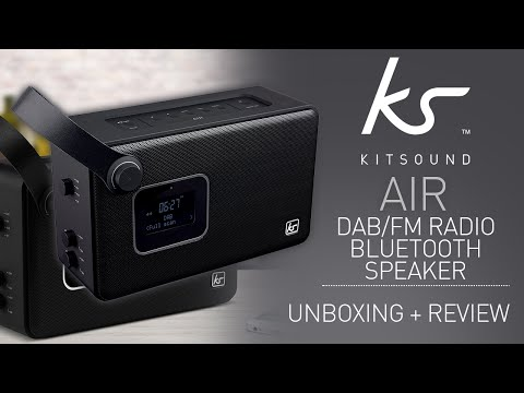 kitsound-air-dab-fm-radio-&-bluetooth-speaker-unboxing-&-review!