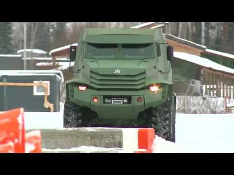 Industrie Russland / Russian armored vehicles: UAMZ  «Kolun» and «Torus»