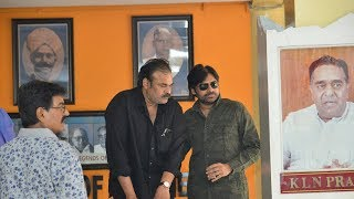Pawan Kalyan Deeksha at Film Chamber || Protest against Sri Reddy Comments | Friday Poster