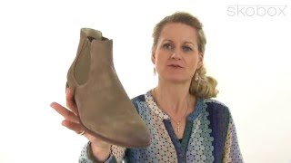 Skobox - Smart Vagabond Linhope Chelsea Boot i lyst ruskind - Køb Vagabond støvletter online