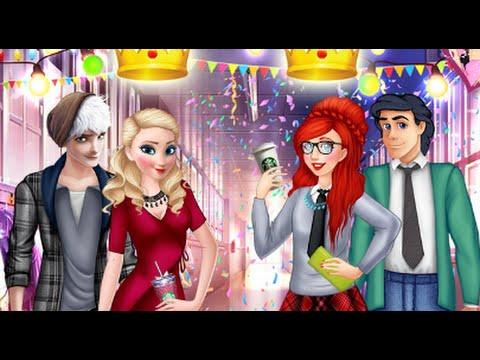Disney Spiele - Eiskönigin Elsa und Mermaid Ariel Wer ist das ...