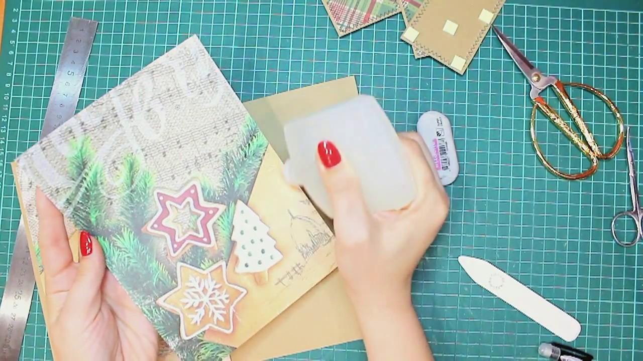 Рисунки гараже, новогодние открытки скрапбукинг мастер-класс видео