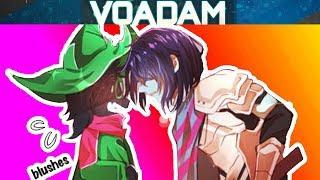 deltarune comic dubs 7 with ralsei susie and kris voadam dubs deltarune