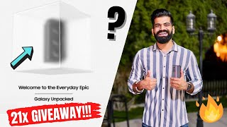 Samsung Galaxy Unpacked 2021 Watch Party 21x Giveaway!!! #TGFamily 🔥🔥🔥
