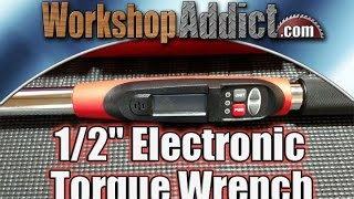"""GearWrench 1/2"""" Electronic Torque Wrench 25-250 ft/lbs 85071"""