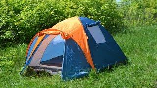 Обзор бюджетной 3х месной палатки Coleman 1011