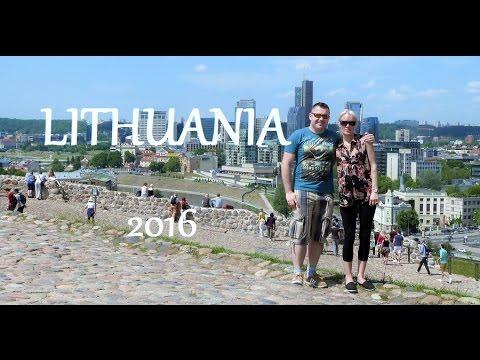 One day in Vilnius, Lithuania.  (Zwiedzamy Wilno)