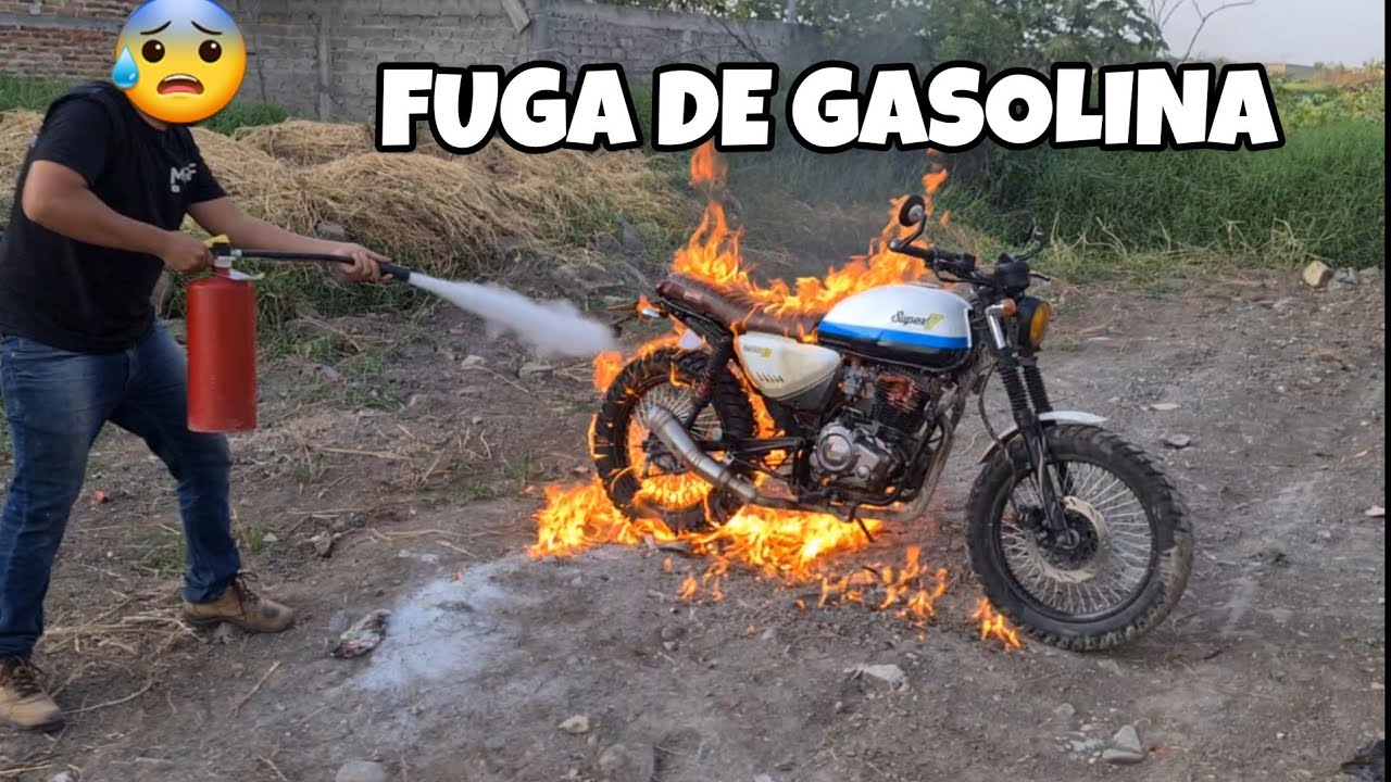 Puede Prenderse Tu Moto Si Le Cae Gasolina Al Motor