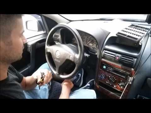 Demontaż Immobiliser Siemens z Wkładką - Opel Astra G
