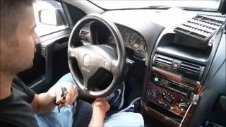 Jak Zdemontować Immobiliser Siemens z Wkładką - Opel Astra G II VAUXHALL