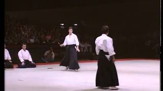 #Aikido Christian Tissier #demonsration 1991, Демонстрация #приемов #айкидо