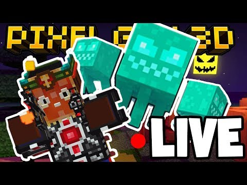 LIVE! - PIXEL GUN 3D w/Subscribers! - COME JOIN ME! (Halloween Update)
