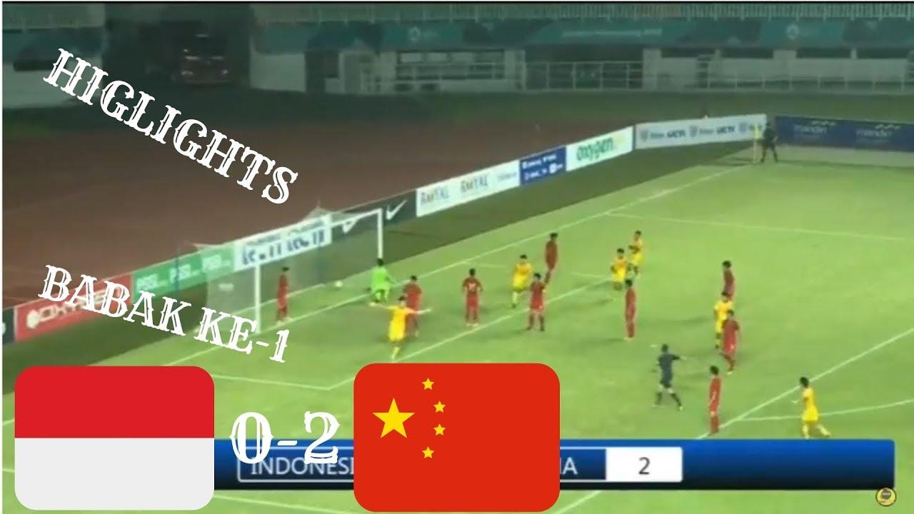 Highlights Babak Ke-1, Indonesia Vs China PSSI Anniversary Cup 2018