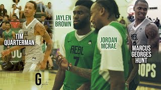 Jaylen Brown, Jordan McRae, Tim Quarterman, and Marcus Georges Hunt PUT ON A SHOW in AEBL Playoffs